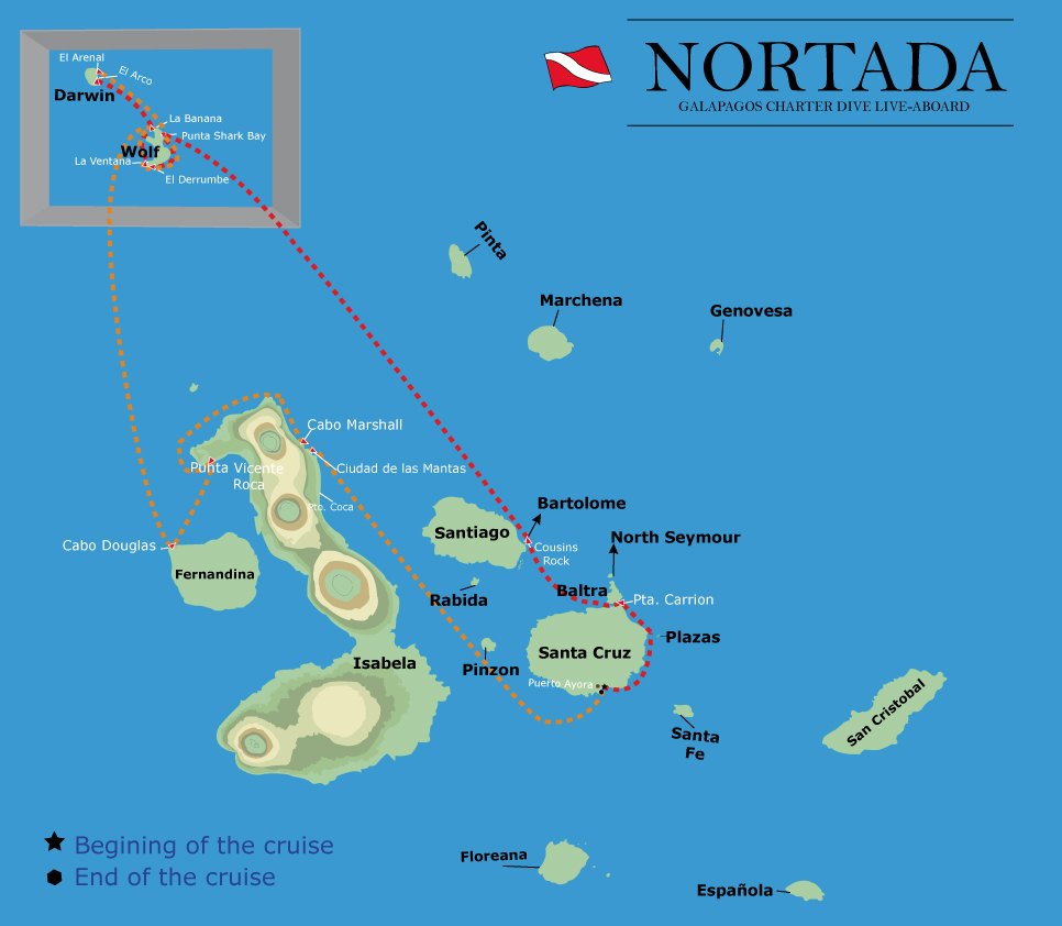 NORTADA NEW ITINERARY